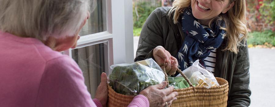 Empatia vizinhos idosos