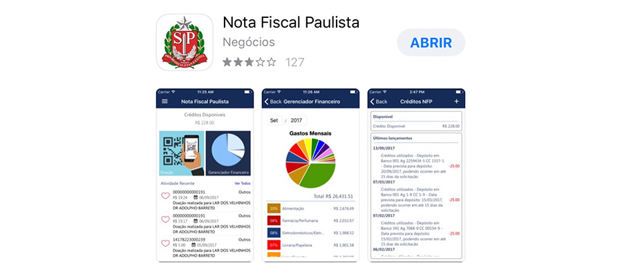 app nota fiscal